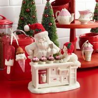 Snowbabies - Baking In The Kitchen With Santa 4045667